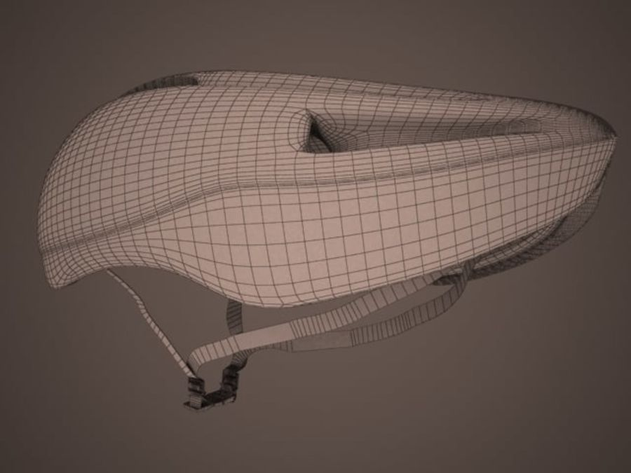 - Bike helmet - royalty-free 3d model - Preview no. 2