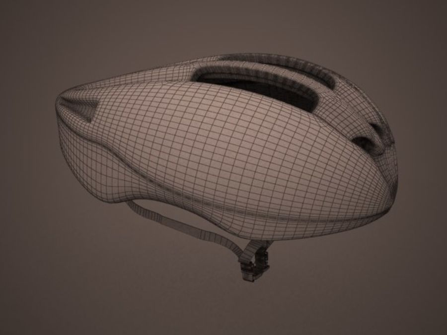 - Bike helmet - royalty-free 3d model - Preview no. 1