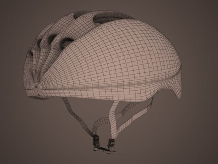 - Bike helmet - royalty-free 3d model - Preview no. 3