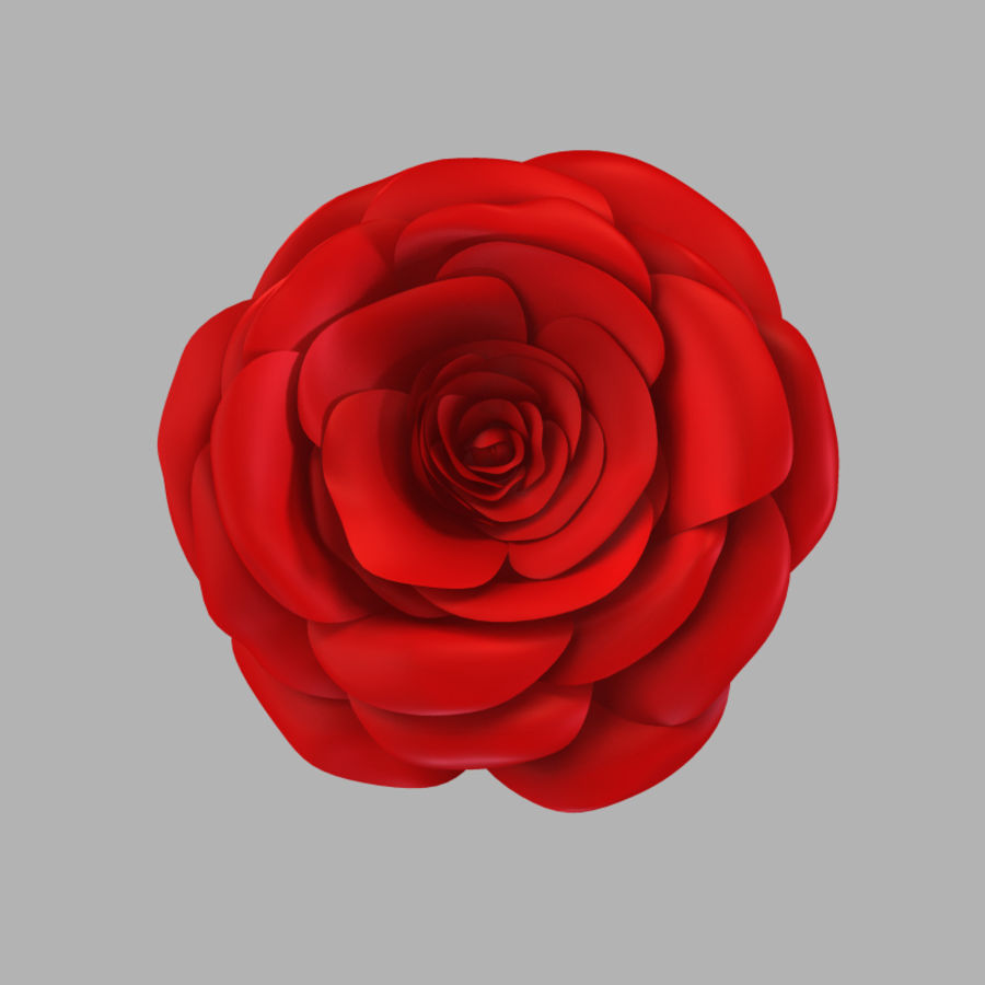 Rose royalty-free 3d model - Preview no. 6
