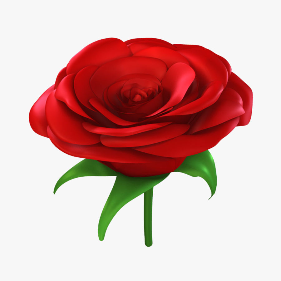 Rose royalty-free 3d model - Preview no. 1