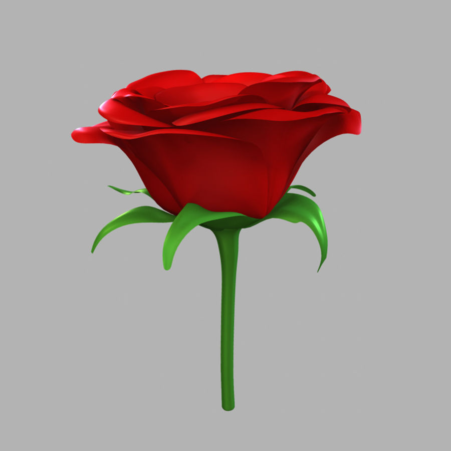 Rose royalty-free 3d model - Preview no. 5