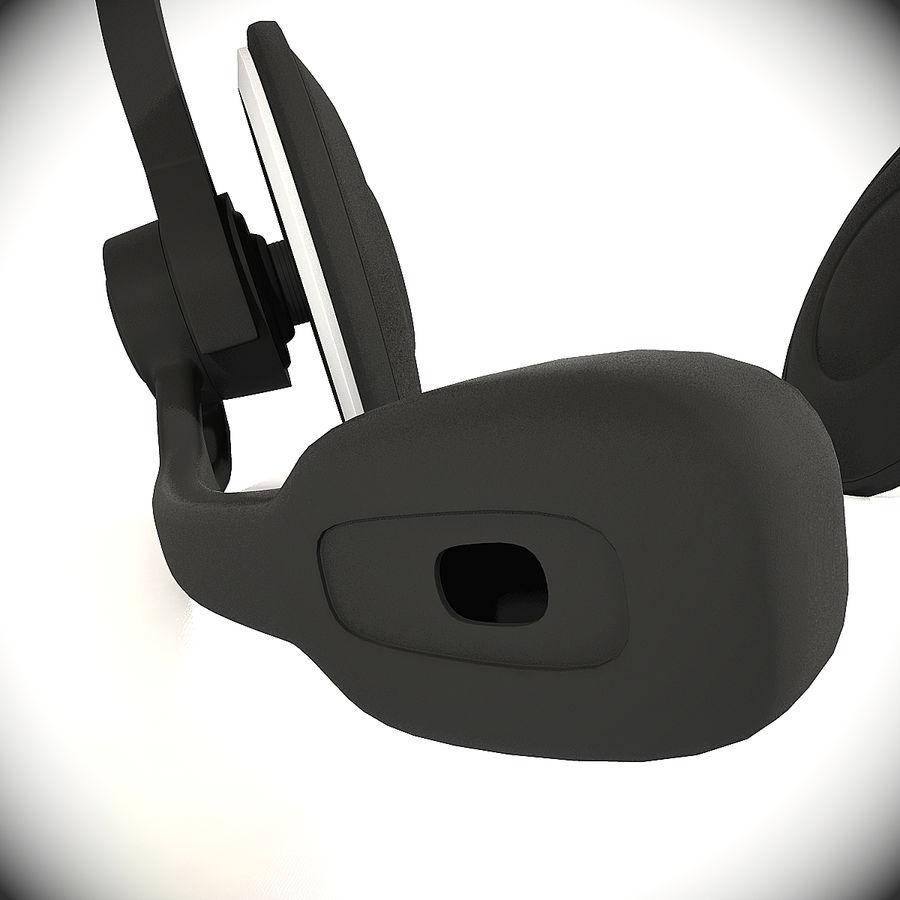 罗技耳机 royalty-free 3d model - Preview no. 4