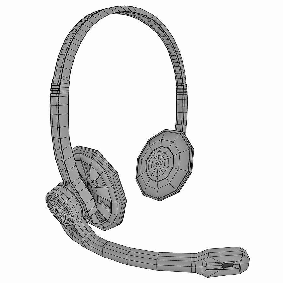 罗技耳机 royalty-free 3d model - Preview no. 6