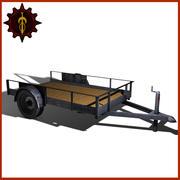Utility-aanhangwagen 3d model