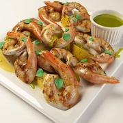Grilled Mediterranean Shrimp 3d model