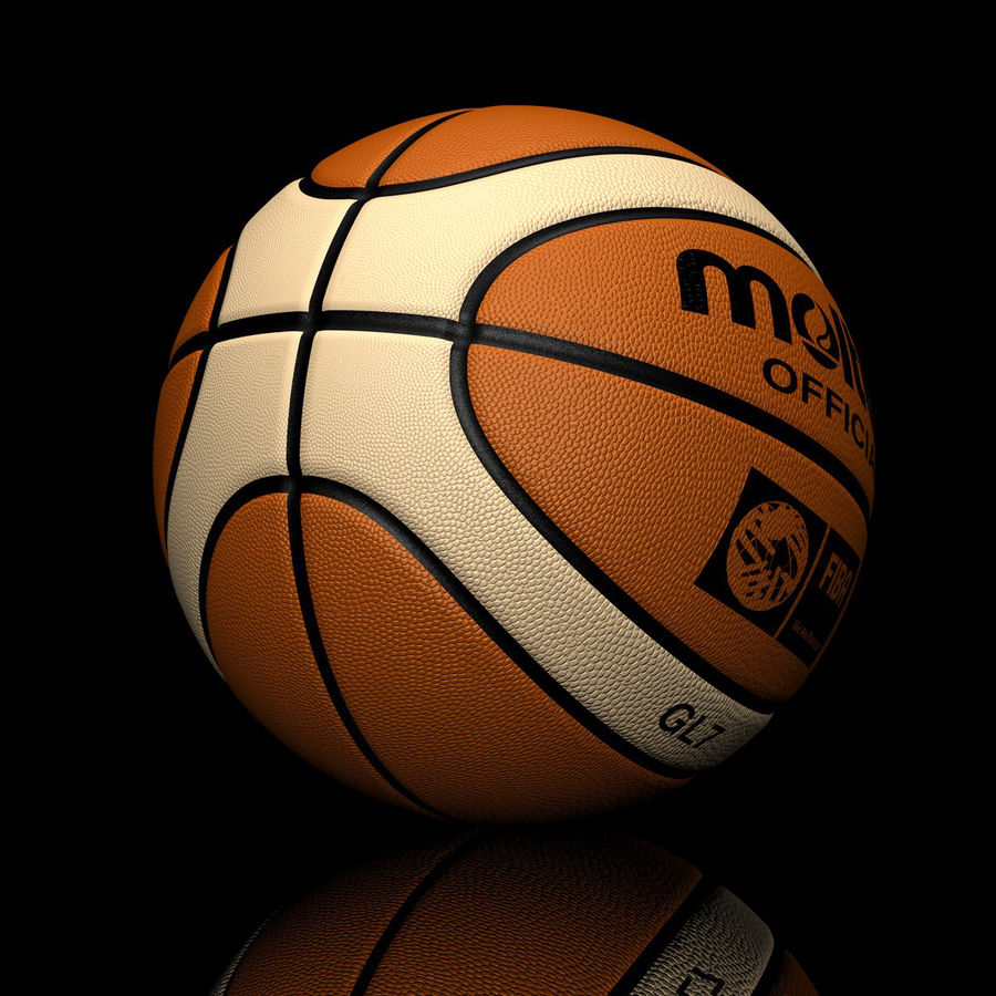 Basketball royalty-free 3d model - Preview no. 1
