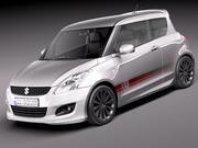 Suzuki Swift X-ITE 2011 3d model