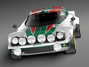 Lancia Stratos HF 1974 3d model