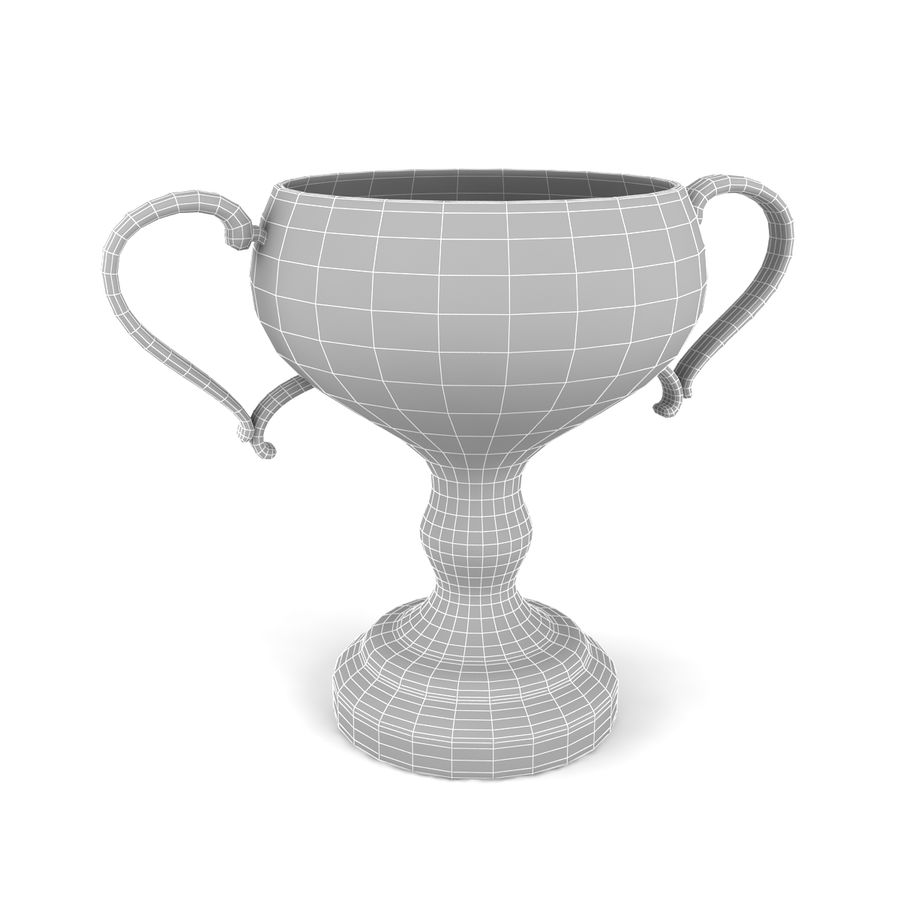 Trophy_06 royalty-free 3d model - Preview no. 5