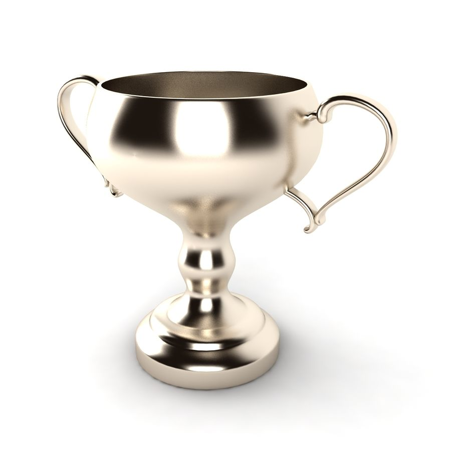 Trophy_06 royalty-free 3d model - Preview no. 2