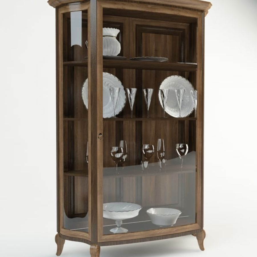 Vitrine royalty-free 3d model - Preview no. 2