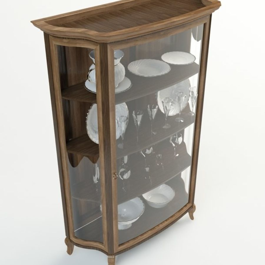 Vitrine royalty-free 3d model - Preview no. 3