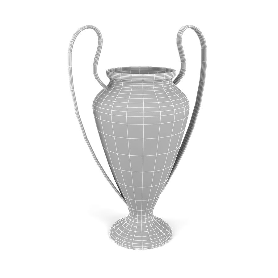 Trophy_04 royalty-free 3d model - Preview no. 5