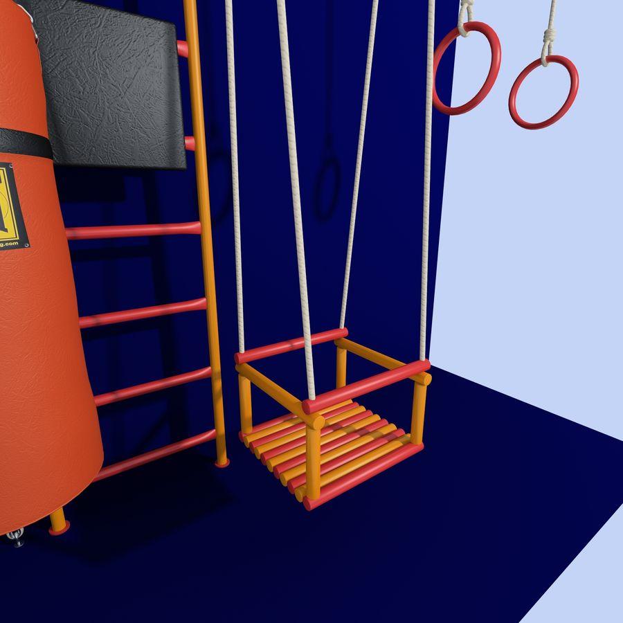儿童运动器材 royalty-free 3d model - Preview no. 5