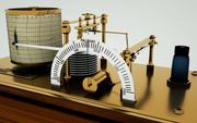 Barographe 3d model