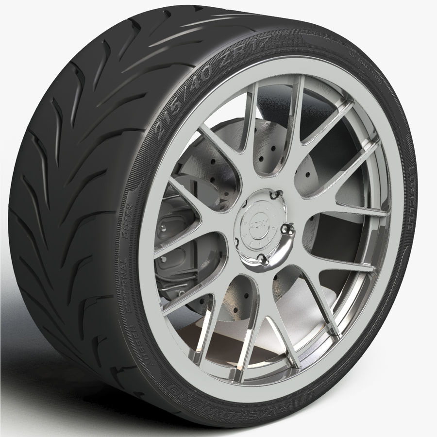 ADV.1 Wheel Type ADV7 royalty-free 3d model - Preview no. 3