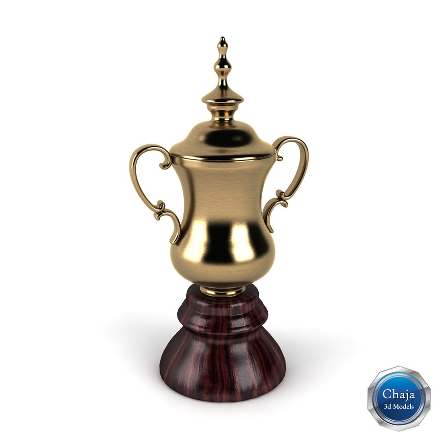 Trophy_03 royalty-free 3d model - Preview no. 1