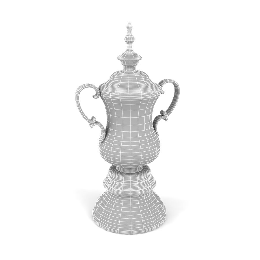 Trophy_03 royalty-free 3d model - Preview no. 5