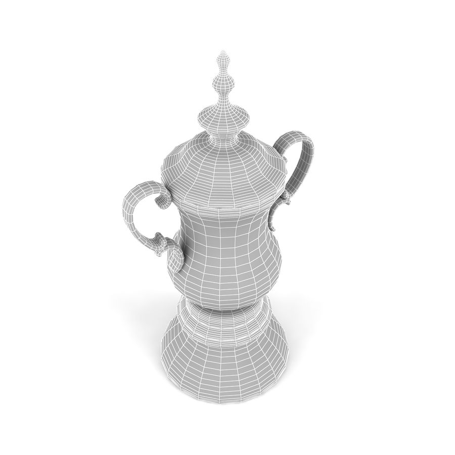 Trophy_03 royalty-free 3d model - Preview no. 6