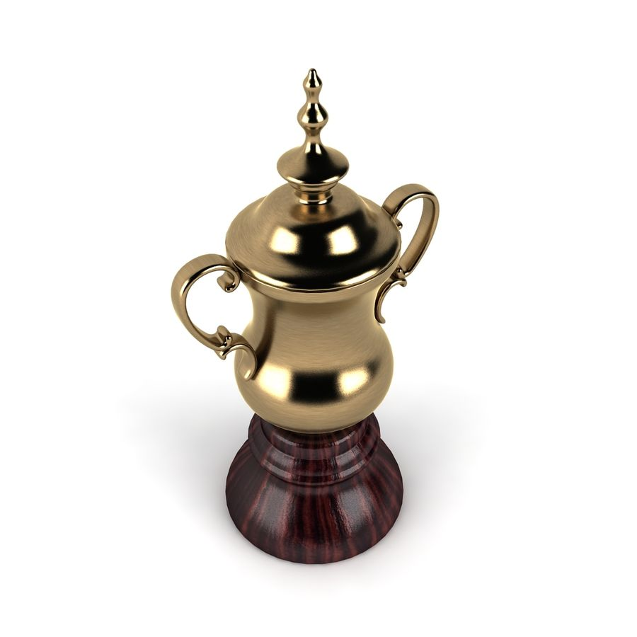 Trophy_03 royalty-free 3d model - Preview no. 3