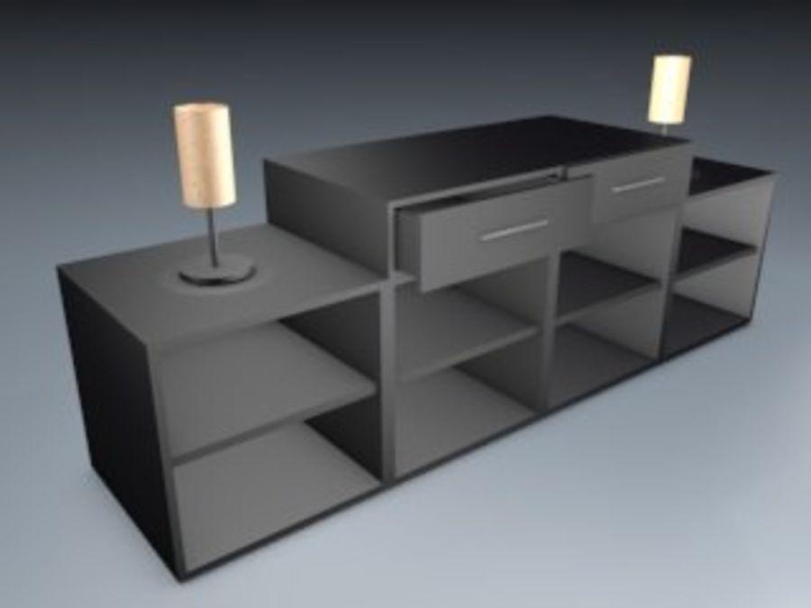 Mueble de sala royalty-free modelo 3d - Preview no. 1