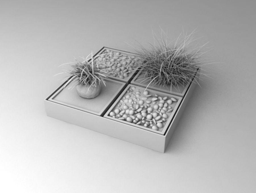 house plants ,decoration,pot plant royalty-free 3d model - Preview no. 3