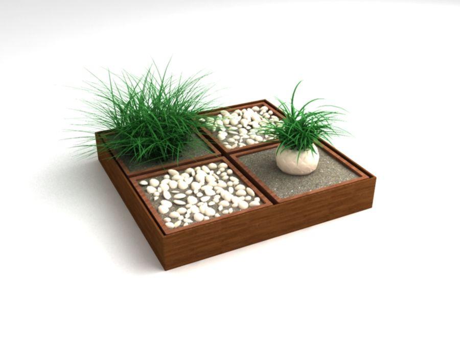 house plants ,decoration,pot plant royalty-free 3d model - Preview no. 1