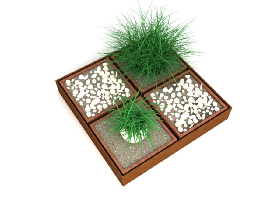 house plants ,decoration,pot plant royalty-free 3d model - Preview no. 2