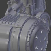 Racing Kart Engine 3d model