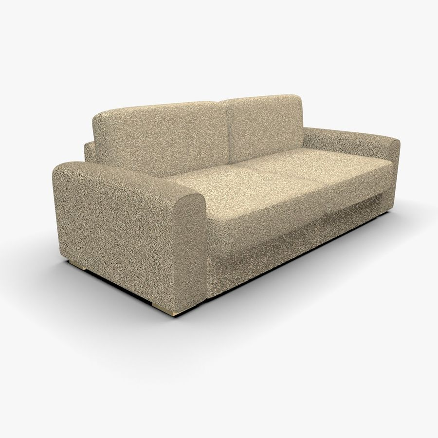 Couch (Sofa) royalty-free 3d model - Preview no. 1