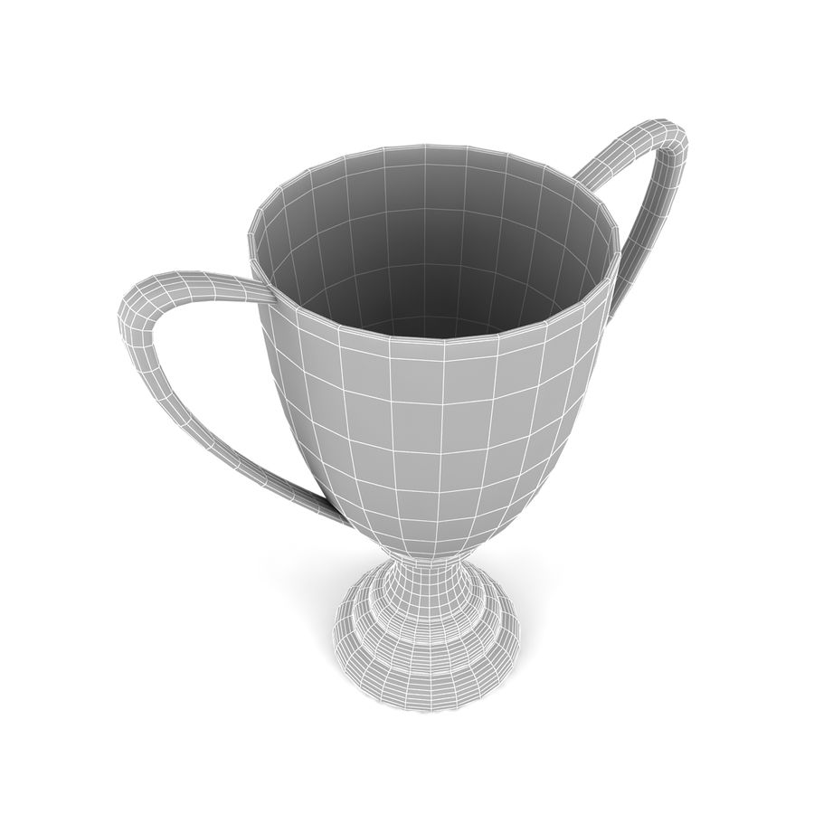 Trophy_02 royalty-free 3d model - Preview no. 6