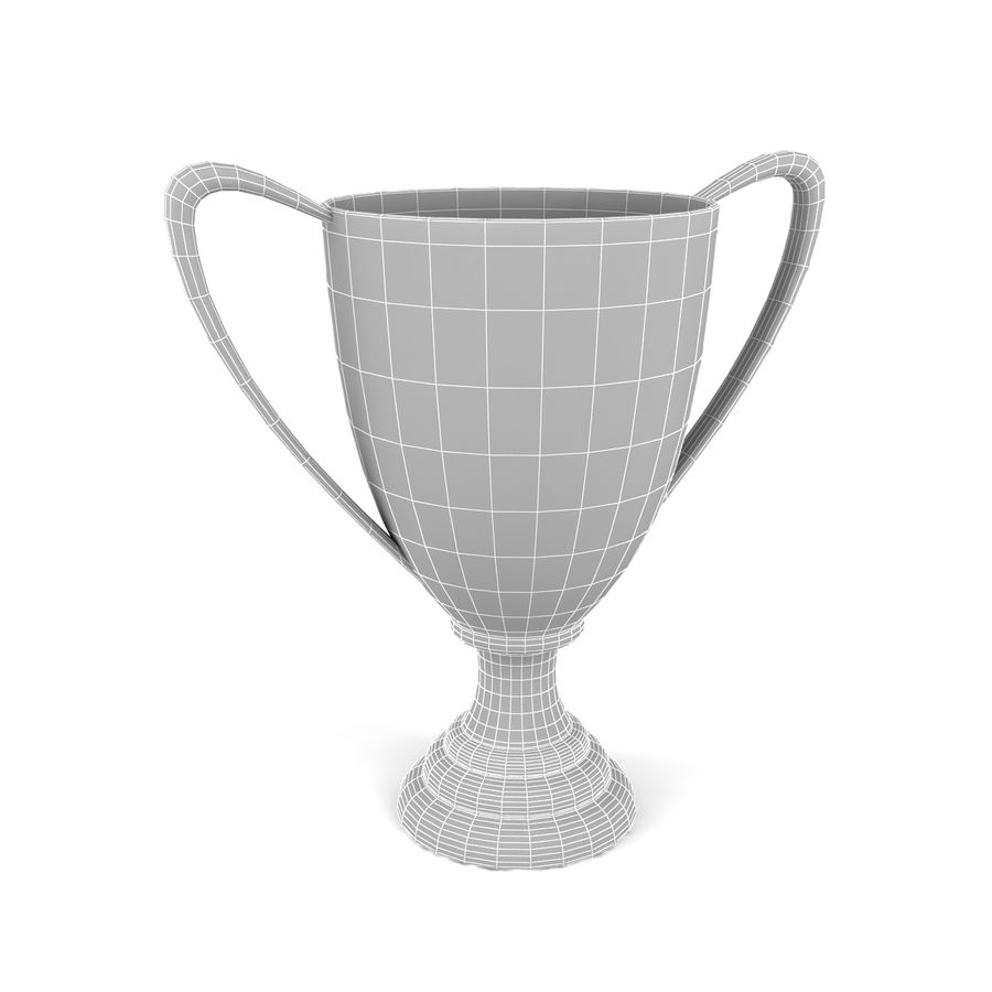 Trophy_02 royalty-free 3d model - Preview no. 5