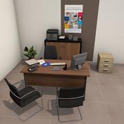 事務室パック 3d model