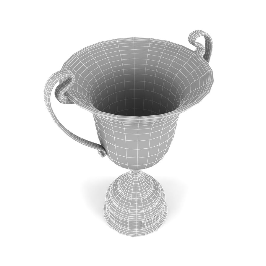 Trophy_07 royalty-free 3d model - Preview no. 6