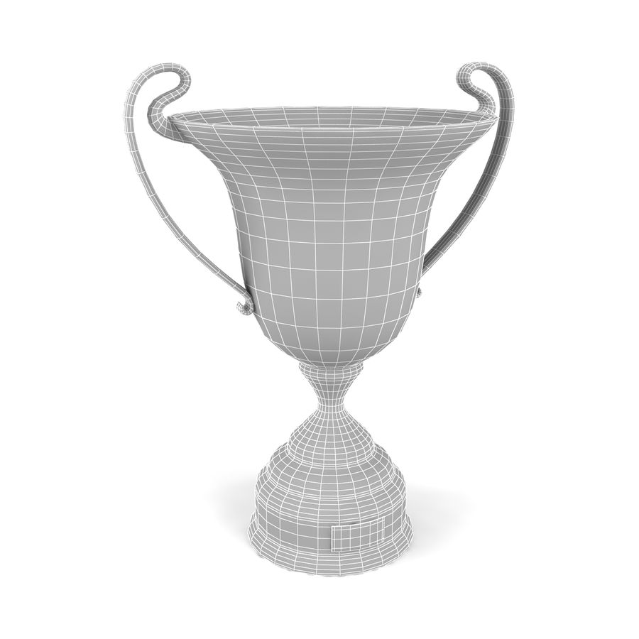 Trophy_07 royalty-free 3d model - Preview no. 5