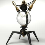 Steampunk Lamp Type No.01 3d model