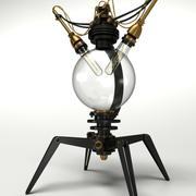 Steampunk Lamp Type No.01 3d model