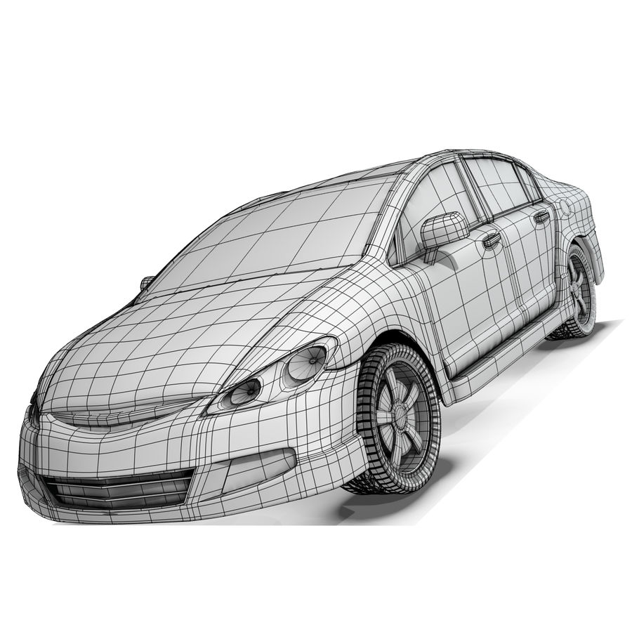Car royalty-free 3d model - Preview no. 9
