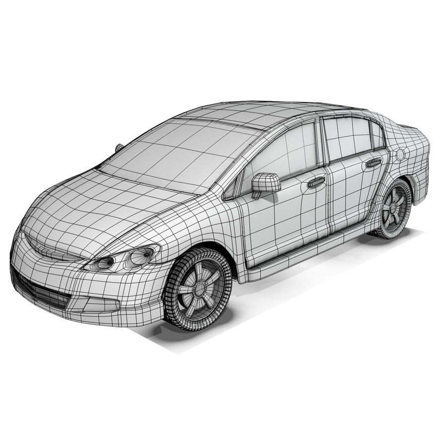 Car royalty-free 3d model - Preview no. 8