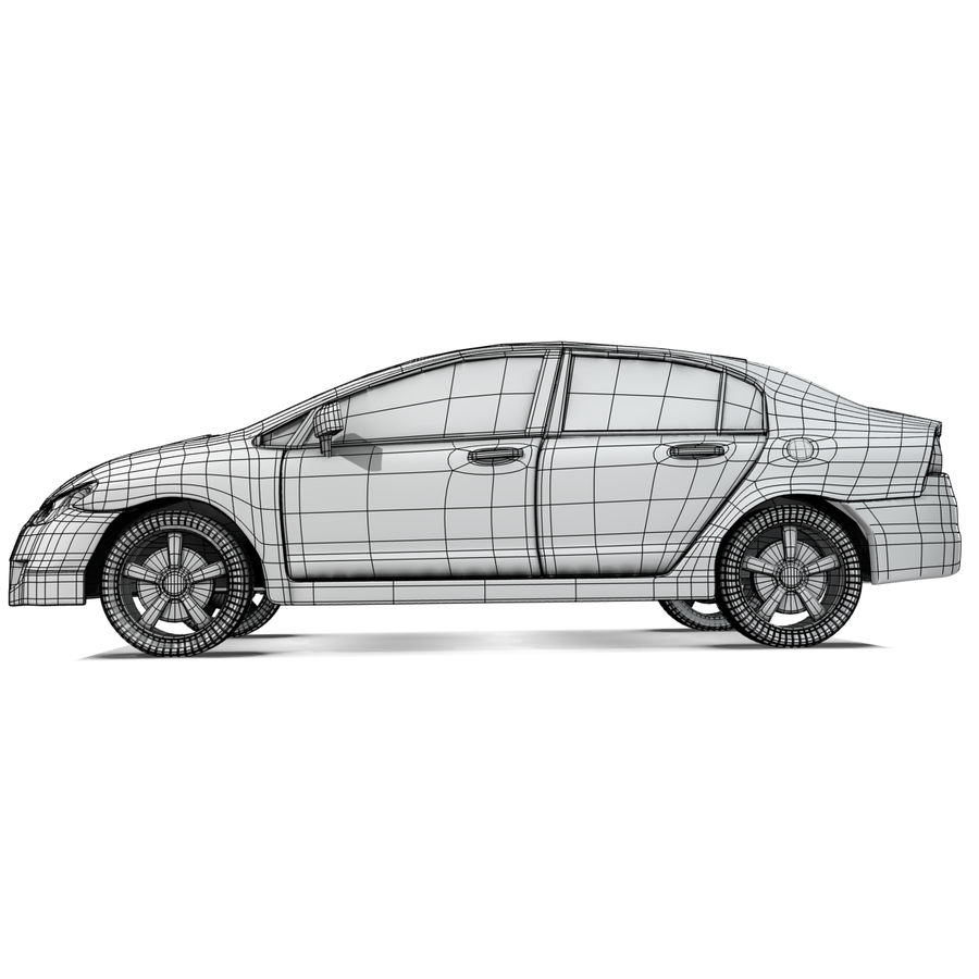 Car royalty-free 3d model - Preview no. 10