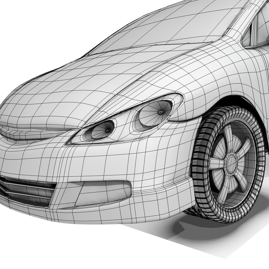 Car royalty-free 3d model - Preview no. 14