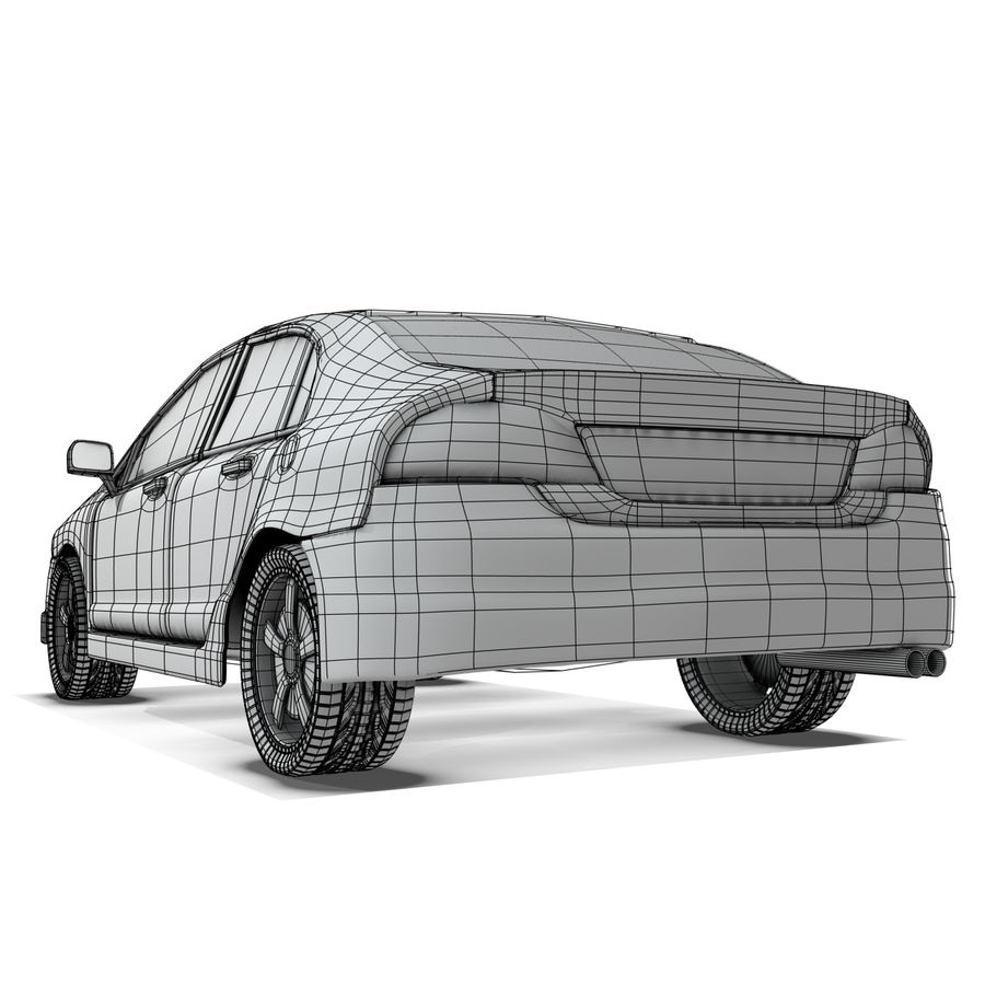 Car royalty-free 3d model - Preview no. 11