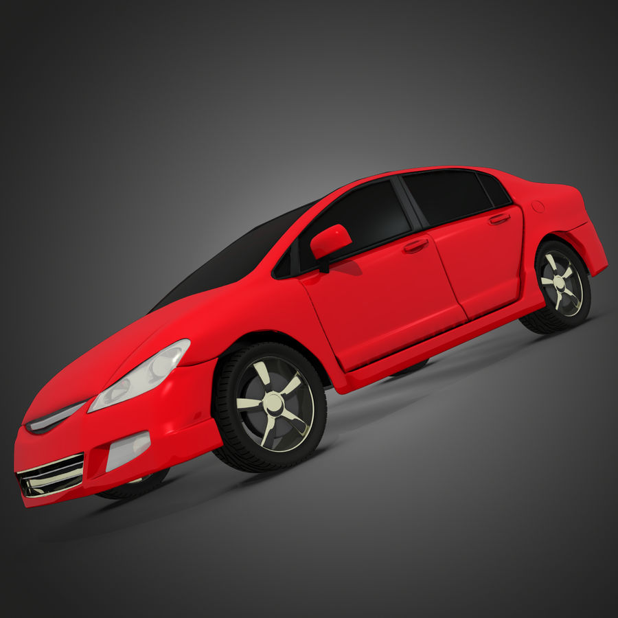 Car royalty-free 3d model - Preview no. 2