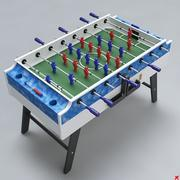 Fussball table09 3d model
