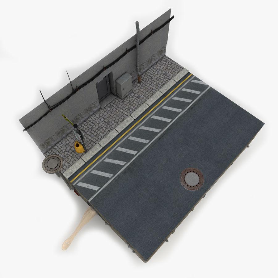 Scena di strada royalty-free 3d model - Preview no. 6