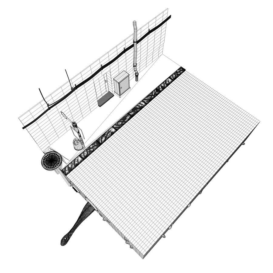 Scena di strada royalty-free 3d model - Preview no. 7