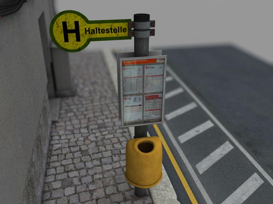 Scena di strada royalty-free 3d model - Preview no. 11