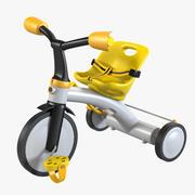 Trike Toy 3d model