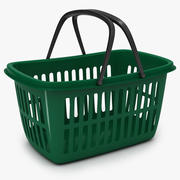 Cesta de compras 3d model